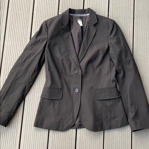 J. Crew stretch black blazer. Size 2